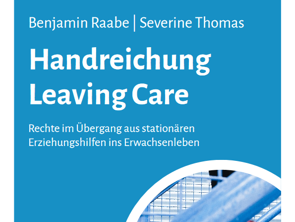 Deckblatt der Handreichung Leaving Care